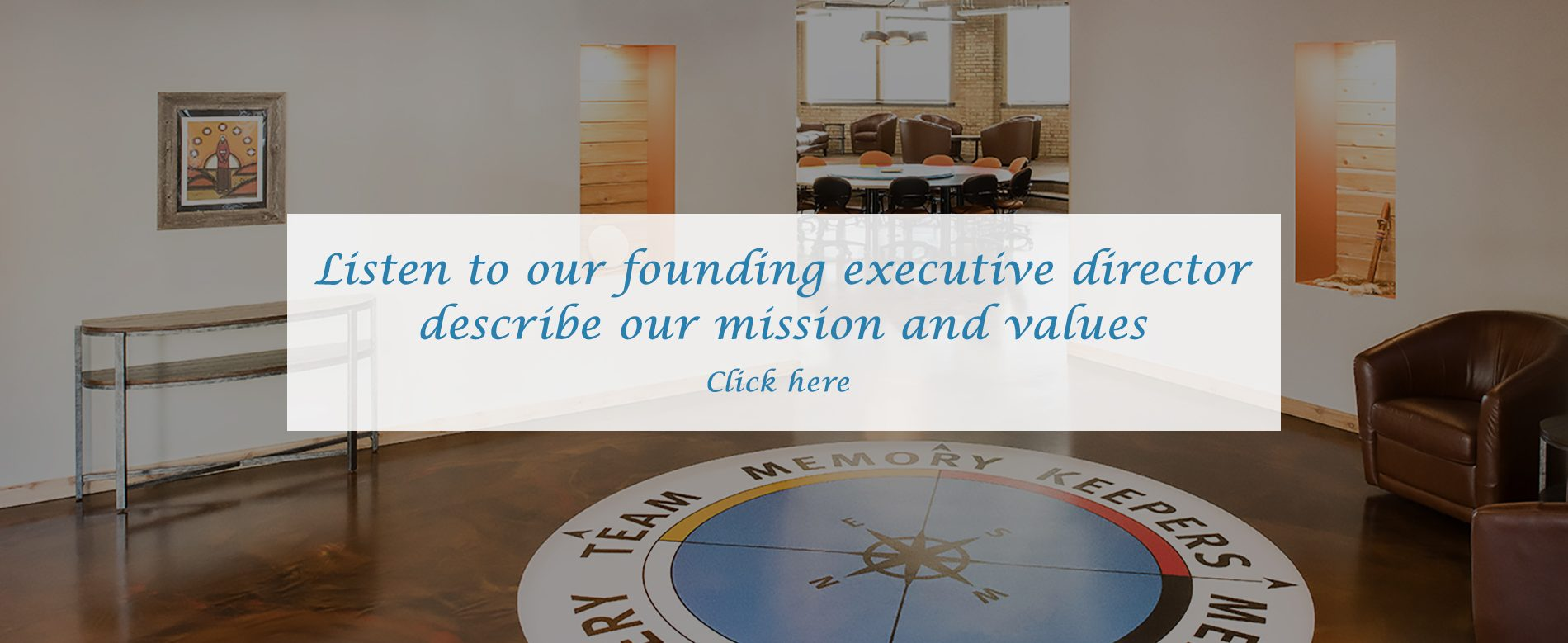 Listen to our founding executive directordescribe our mission and values