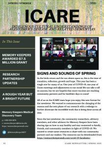 ICARE Newsletter Spring/Summer 2021